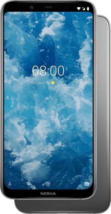 Nokia 8.1 Dual-SIM silber