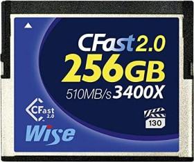 Wise Advanced Blue 3400X R510/W450 CFast 2.0 CompactFlash Card 256GB (CFA-2560)