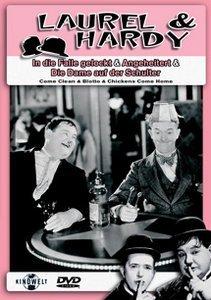 Laurel & Hardy - In die Falle gelockt/Angeheitert/Die Dame auf der Schulter