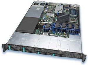 Intel SR1500ALSAS, 1HE (2x Xeon Sockel 771, FB-DIMM PC2-5300F)