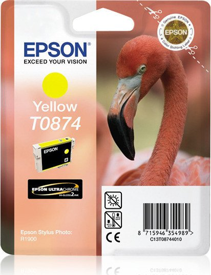 Epson ink T0874 yellow (C13T08744010)