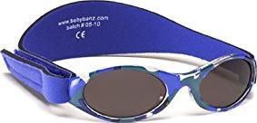 Baby Banz 00385 Sonnenbrille Kidz mit elastischem Neoprenband, für Kopfumfang circa bis 2 jahre, UV400, 40-52 cm, weiß