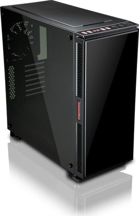 Enermax Equilence schwarz, Glasfenster, inkl. Lüfter (ECA3511A-BB)