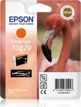 Epson T0879 Tinte orange (C13T08794010)