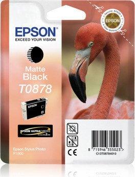 Epson T0878 Ink black matte (C13T08784010)