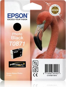 Epson T0871 Tinte schwarz (C13T08714010)