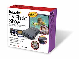 Dazzle* TV Photo Show (CF & SM), RCA-Video-out (903337)