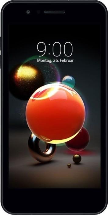 LG Electronics K9 Dual-SIM LMX210EMW black
