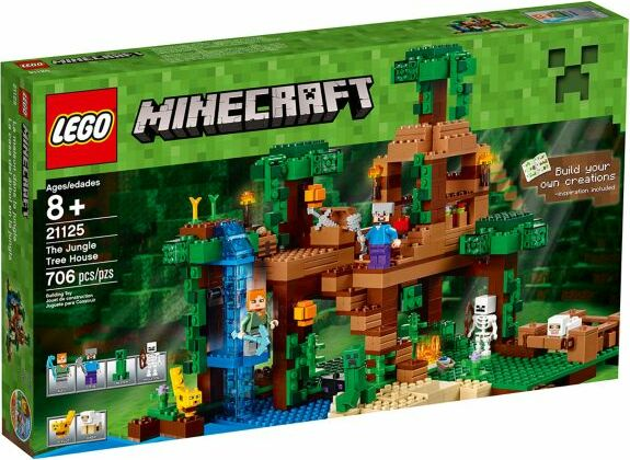 LEGO Minecraft - The Jungle Tree House (21125)