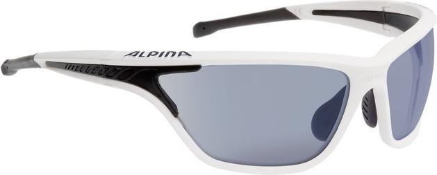 Alpina EYE-5 Tour VLM Sportbrille Weiß/Schwarz 1WloPQ8