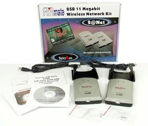 Tekram 2@Net wireless network kit PCMCIA