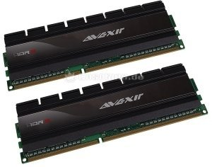 Avexir Blitz Gaming Cross Platform DIMM Kit  4GB, DDR3-1600, CL8-8-8-24 (AVD3U16000802G-2GW) -- © caseking.de