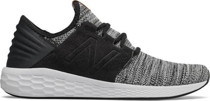 new balance herren cruz fresh foam sneakers schwarz