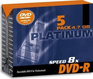 BestMedia Platinum DVD-R 4.7GB 8x, 5-pack Jewelcase