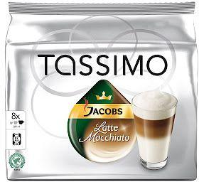 Tassimo T-Disc Jacobs Latte Macchiato Kaffeekapseln, 16er-Pack