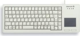 Cherry G84-5500 XS Touchpad Keyboard hellgrau, Cherry ML, USB, DE (G84-5500LUMDE-0)