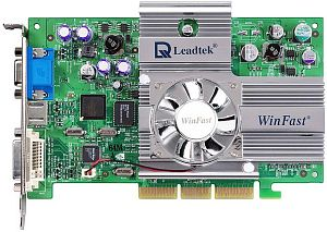 Leadtek WinFast A280 LE TD, GeForce4 Ti4200 8X, 64MB DDR, DVI, TV-out, AGP