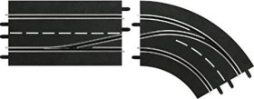 Carrera Digital 124 Accessories - Lane change curves right in to out (30364)