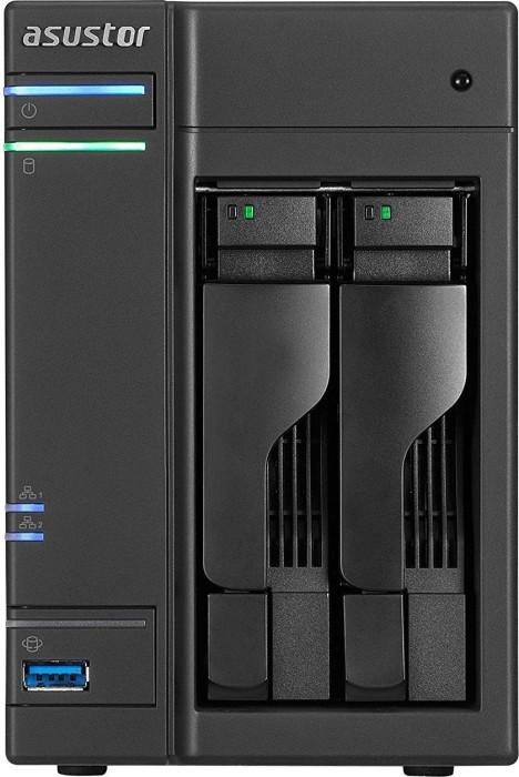 Asustor AS6302T, 2x Gb LAN (90IX01331-BW3S10)