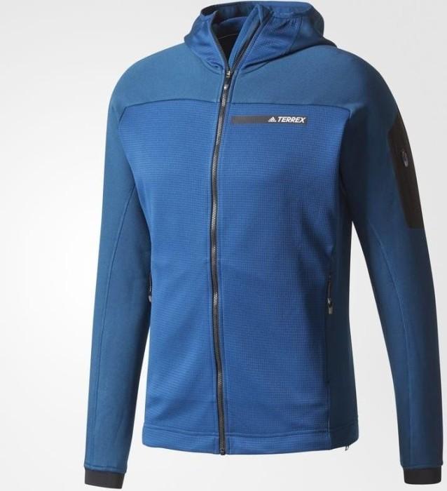 acf0b6e19f adidas Terrex Stockhorn Hoody Jacket bold blue (men) (BS2502)