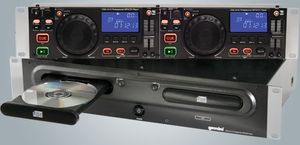 Gemini CDX-2410 double CD player black