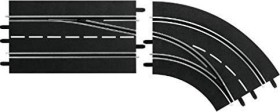 Carrera Digital 124 Accessories - Lane change curve right out to in (30365)