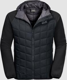 Jack Wolfskin Grassland hybrid Hood Jacket black (men) (1204281-6000)