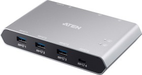 ATEN US3342 USB 3.0 Sharing switch, 4-way USB-A 3.1, USB-C 3.1