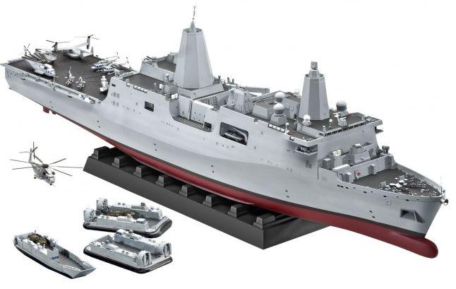 Revell Amphibious Transport Dock U.S.S. New York (LPD-21) (05118)