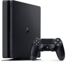 Sony PlayStation 4 Slim - 500GB inkl. 2 Controller FIFA 21 Bundle schwarz (9827429)