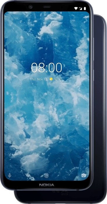 Nokia 8.1 Dual-SIM blau