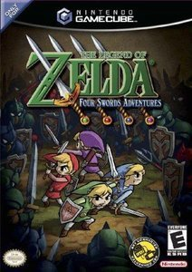 The Legend of Zelda: Four Swords Adventures (niemiecki) (GC)
