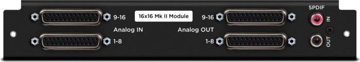 Apogee Symphony I/O MK II modules 16x16