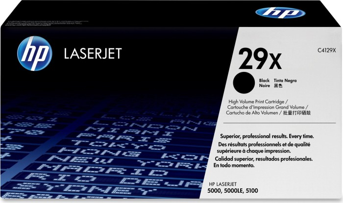 HP Toner 29X black (C4129X)
