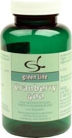 11A Nutritheke Cranberry 400 Kapseln, 120 Stück