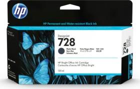 HP Tinte 728 schwarz matt hohe Kapazität (3WX25A)