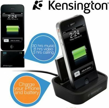 Kensington Charge & Sync docking station for Apple iPhone 4 (K39265EU) -- via Amazon Partnerprogramm