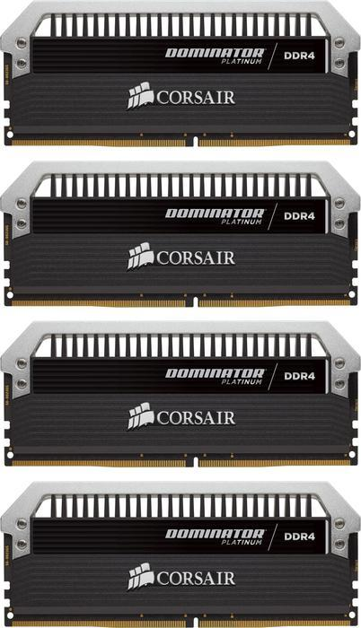 Corsair Dominator Platinum DIMM kit 64GB, DDR4-3466, CL16-18-18-36 (CMD64GX4M4B3466C16)
