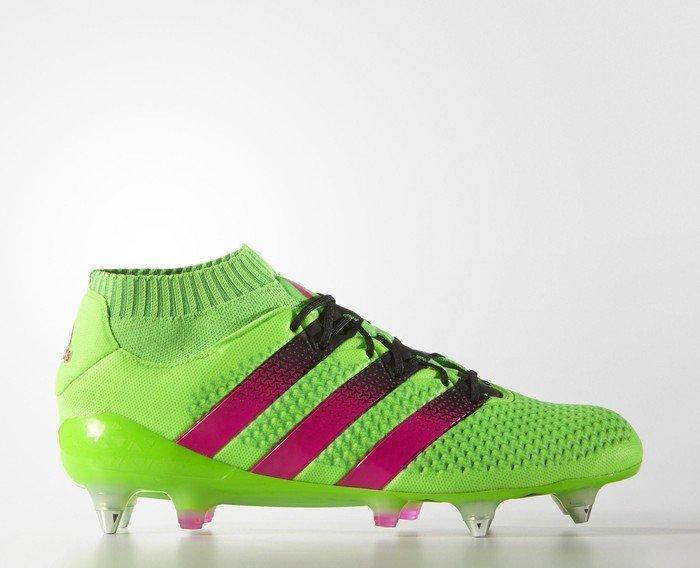 0eafde6ca7e8b adidas Ace 16.1 Primeknit SG solar green/shock pink/core black (men)  (AQ2546)
