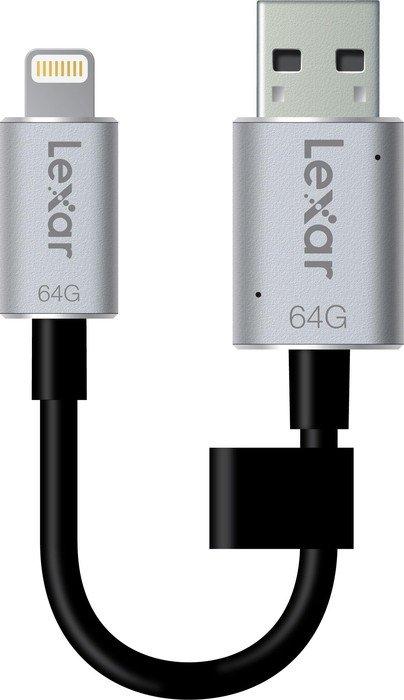 Lexar JumpDrive C20i 64GB, USB-A 3.0/Lightning (LJDC20I-64GBBEU)