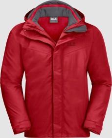 Jack Wolfskin Gotland 3in1 Jacke red lacquer (Herren) (1110721-2102)