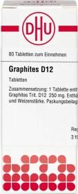 DHU Graphites D12 Tabletten, 80 Stück