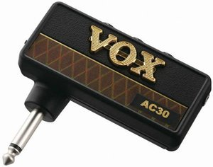 VOX amPlug AC30 headphone amplifier for Electric guitars