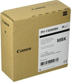 Canon Tinte PFI-1300BK schwarz matt (0810C001)