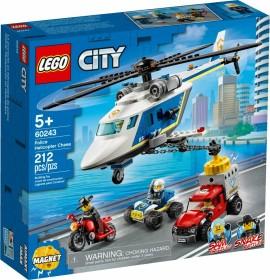 LEGO City Polizei - Verfolgungsjagd mit dem Polizeihubschrauber (60243)