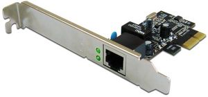 Digitus DN-1013-2, 1x 1000Base-T, PCIe x1