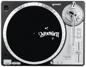 Gemini TT-04 Turntable schwarz
