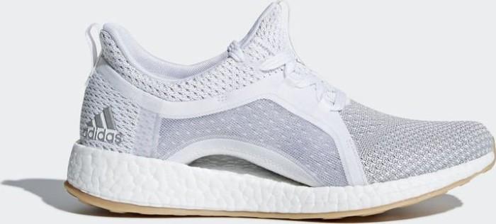 watch 40ab2 d074e adidas Pure Boost X Clima ftwr whitesilver metallicgrey two (Damen)