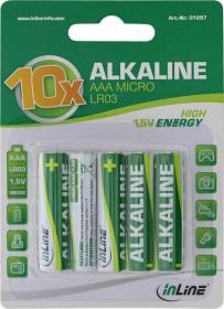 InLine Alkaline High Energy Micro AAA, 10-pack (01297)