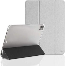 "Hama Tablet Case Fold Clear für Apple iPad Pro 12.9"" (4. Generation / 2020), silber (188437)"